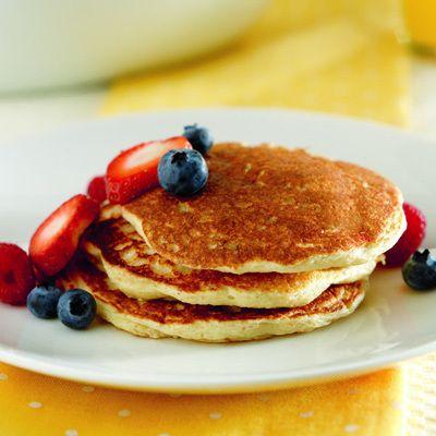 Oat Bran Pancakes Recipe | Food | Pancakes, Oat bran