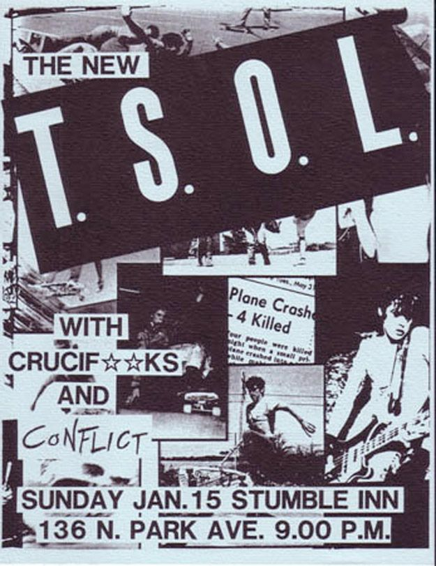 29 Amazing Punk Flyers From The 80s | CBGB PUNK | Punk
