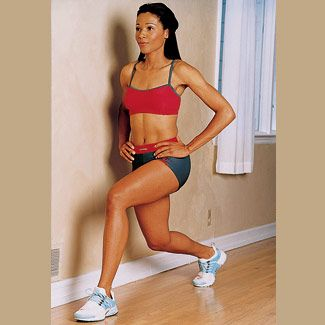 Lunges! #fitness #workout
