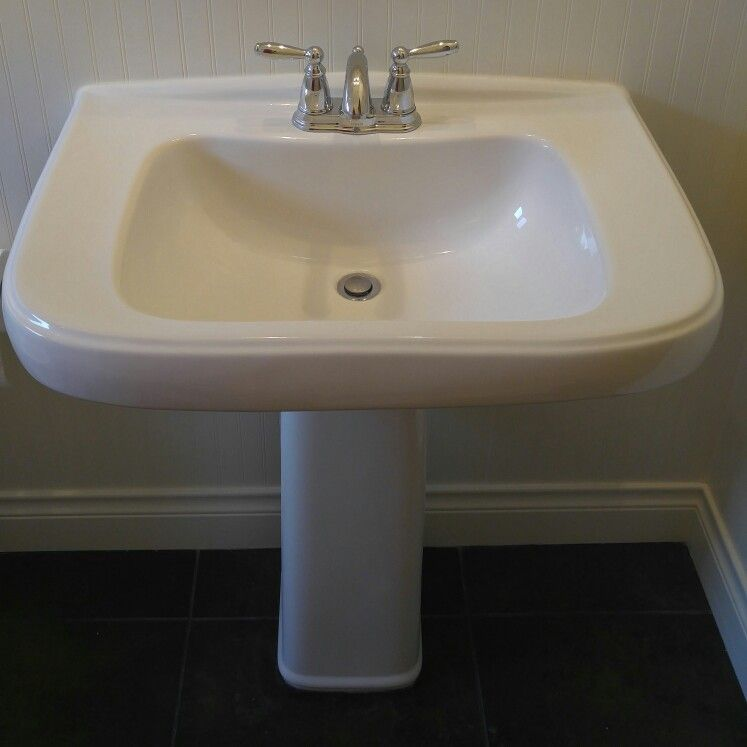 Large Pedestal SinkSteves Bathroom Remodeling Serving Georgetown - Bathroom remodel pflugerville
