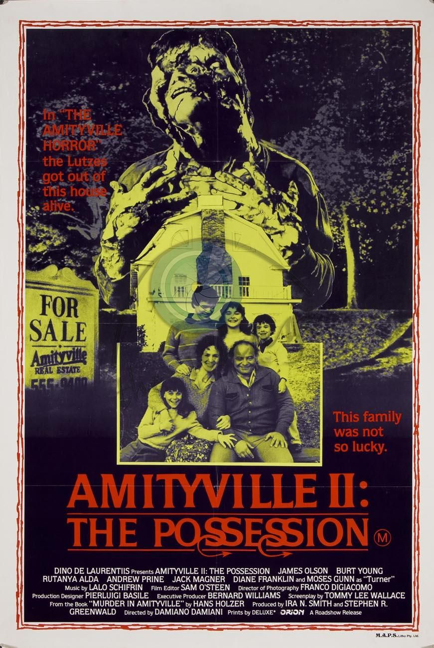 Image result for Amityville II The Possession poster