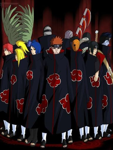 Akatsuki Wallpapers Baixar Akatsuki Wallpapers 1 0 Android Akatsuki Anime Hidan And Kakuzu