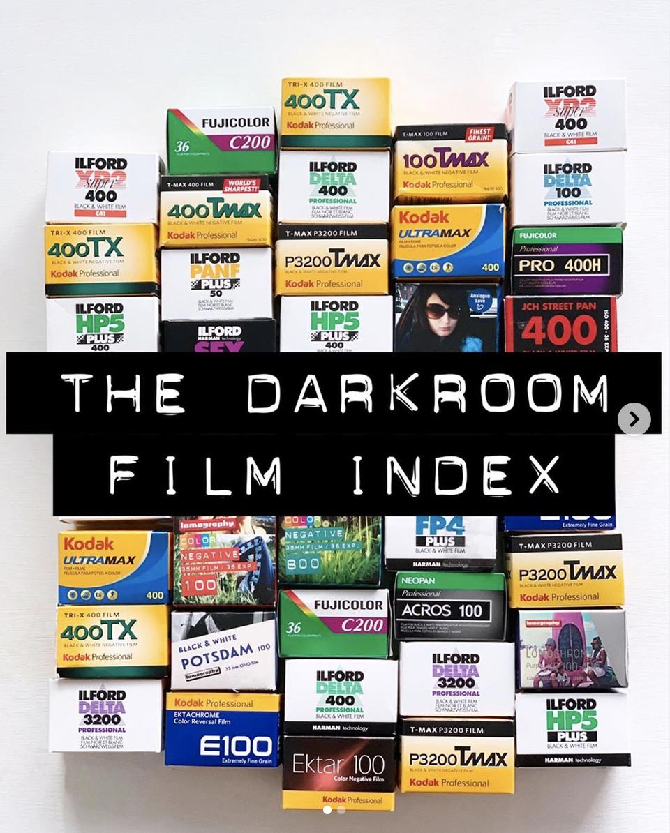 Photo Film Index The Darkroom S Comprehensive Photography Film Index Index Film Photo