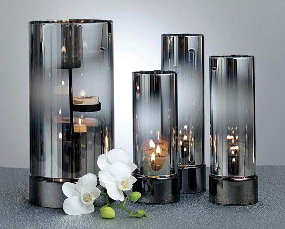 6 x Zylinder Glas Windlicht Glas Terrarium für Pflanzen Tischdekoration H 15 cm