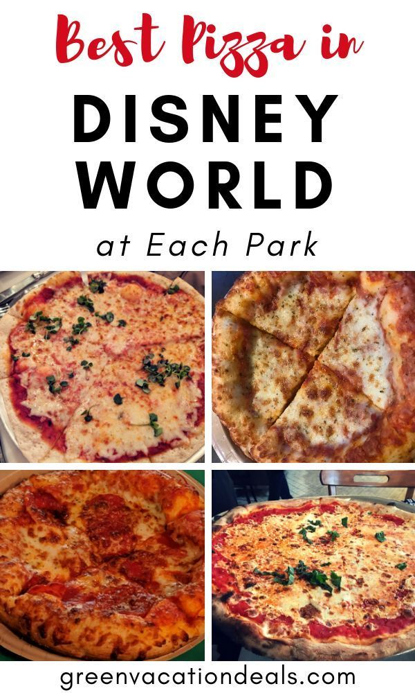 Best Pizza in Disney World at Each Park | Green Vacation Deals