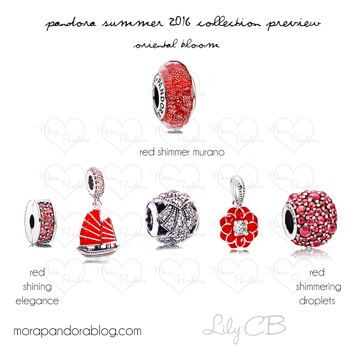 Pandora Jewelry Collection: Pandora Summer 2016 Collection Preview