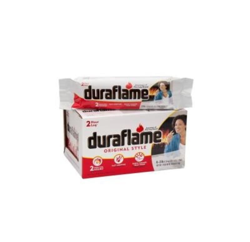 Wow 18 Lbs Of Duraflame Fireplace Starter Logs One Case 6 Logs
