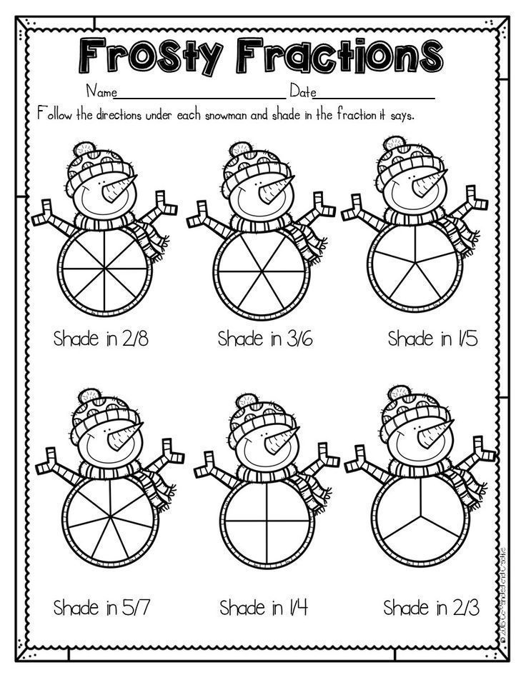 How to Survive the Winter Holidays as a Teacher -    Frosty Fractions is a fun w... -    How to Survive the Winter Holidays as a Teacher –    Frosty Fractions is a fun way for students to practice showing fractions. After reading each fraction, all they do is shade the correct part. Perfect for a quick assessment, morning work and homework! Part of a Winter Literacy and Math No Prep Bundle for Second Grade.  How to Survive the Winter Holidays as a Teacher  Caffeinated and Creative shawnaperyea