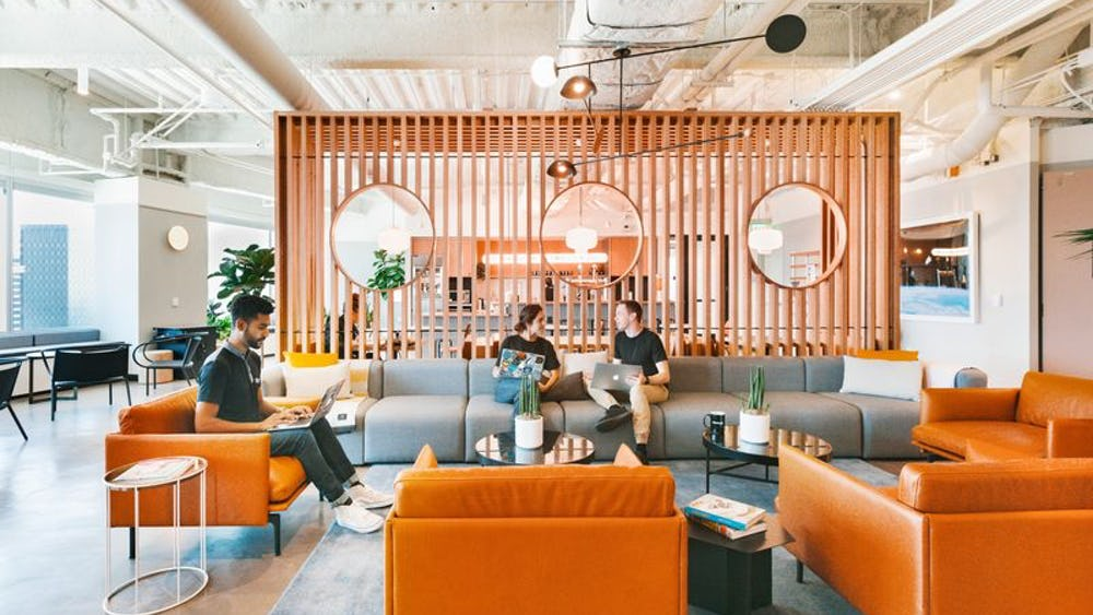 Wework John Dalton Street Google Search Coworking Space Coworking Cool Office Space