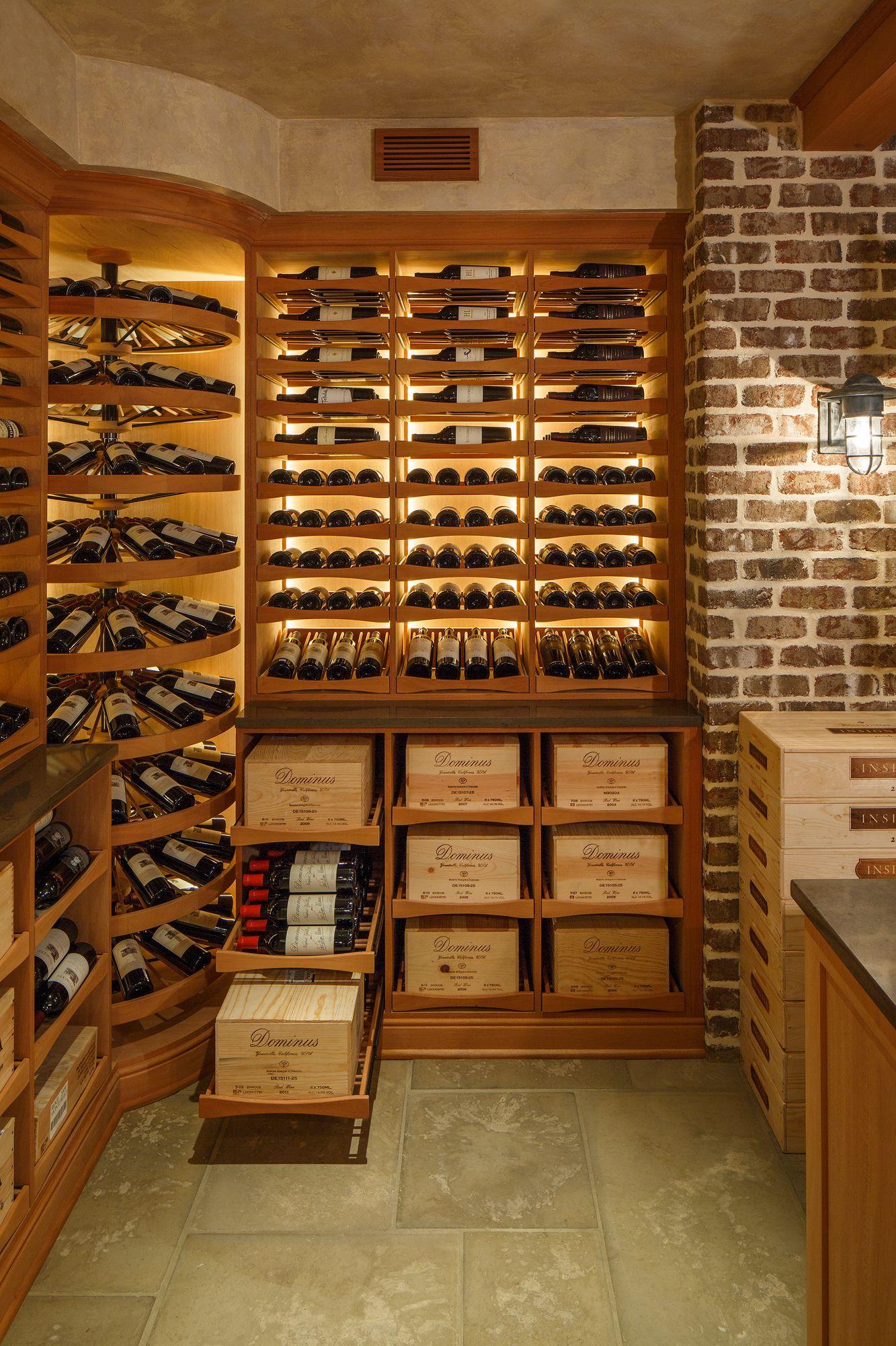 case storage Wine cellar remodel, Home wine cellars