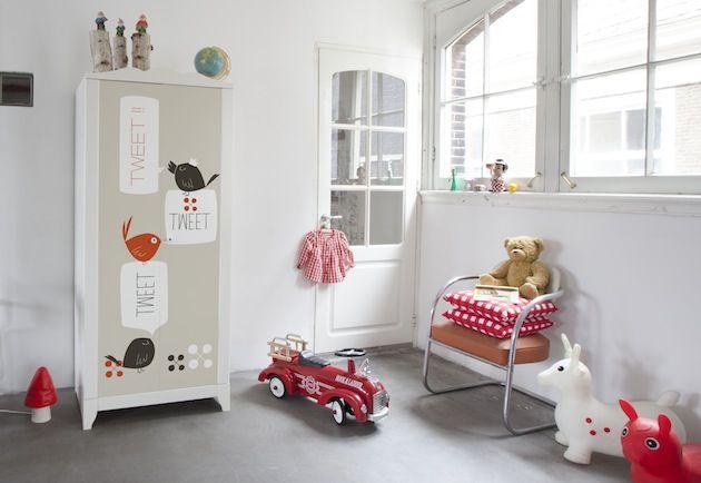 Http Www Elishean Fr Aufeminin Wp Content Uploads 2014 04 Custom Ikea 8 Jpg Deco Chambre Bebe Garcon Stickers Pour Meuble Idee Chambre Enfant