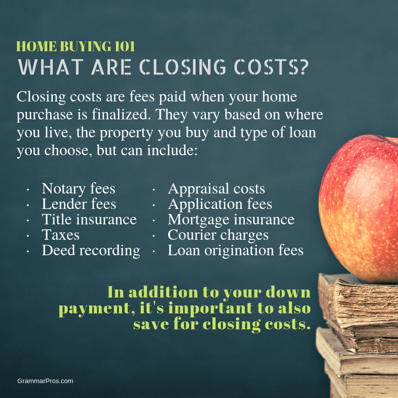Your Down Payment Isn T The Only Thing You Need To Save For Before