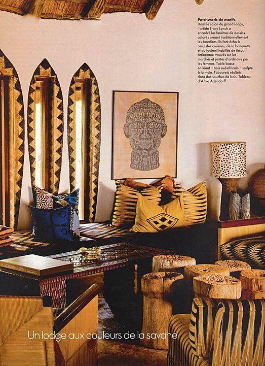 pingl par ebony pocahontas sur african decor pinterest deco d coration int rieure. Black Bedroom Furniture Sets. Home Design Ideas