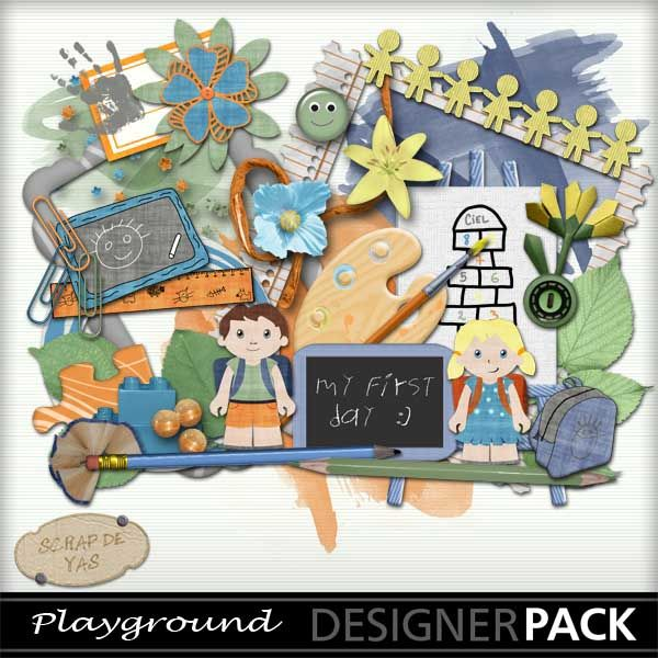 """kit """"Playground"""" by Scrap de yas http://www.mymemories.com/store/display_product_page?id=SDYF-CP-1308-38756"""