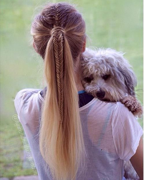 Cute Ponytail Hairstyles 30 Cute Ponytail Hairstyles You Need To Try  Ponytail Fishtail