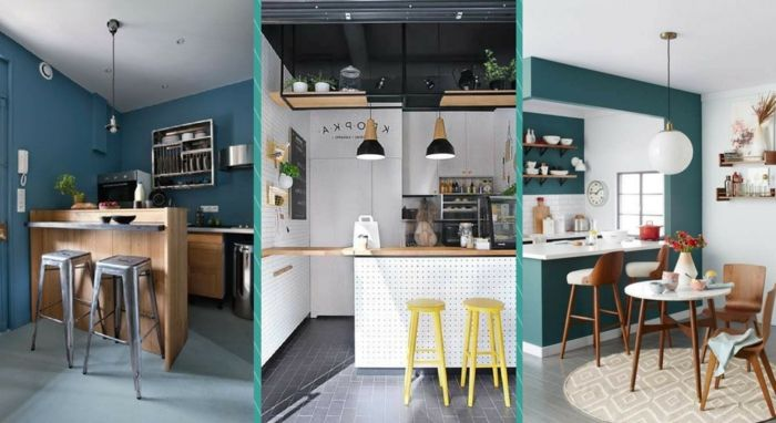 1001 ideas para organizar las cocinas peque as cocina for Radiadores 7 islas