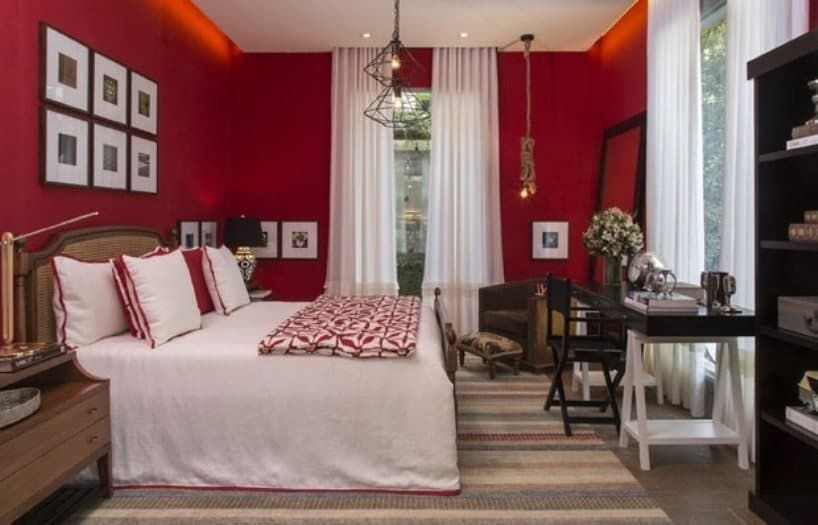 Bold Red Bedroom Color Bedroom Red Red Bedroom Colors Red