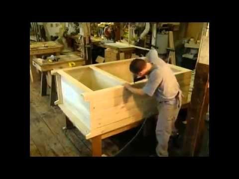 Как сделать деревянный шкаф четырехдверный своими руками.Мебель из дерева.mp4 - YouTube