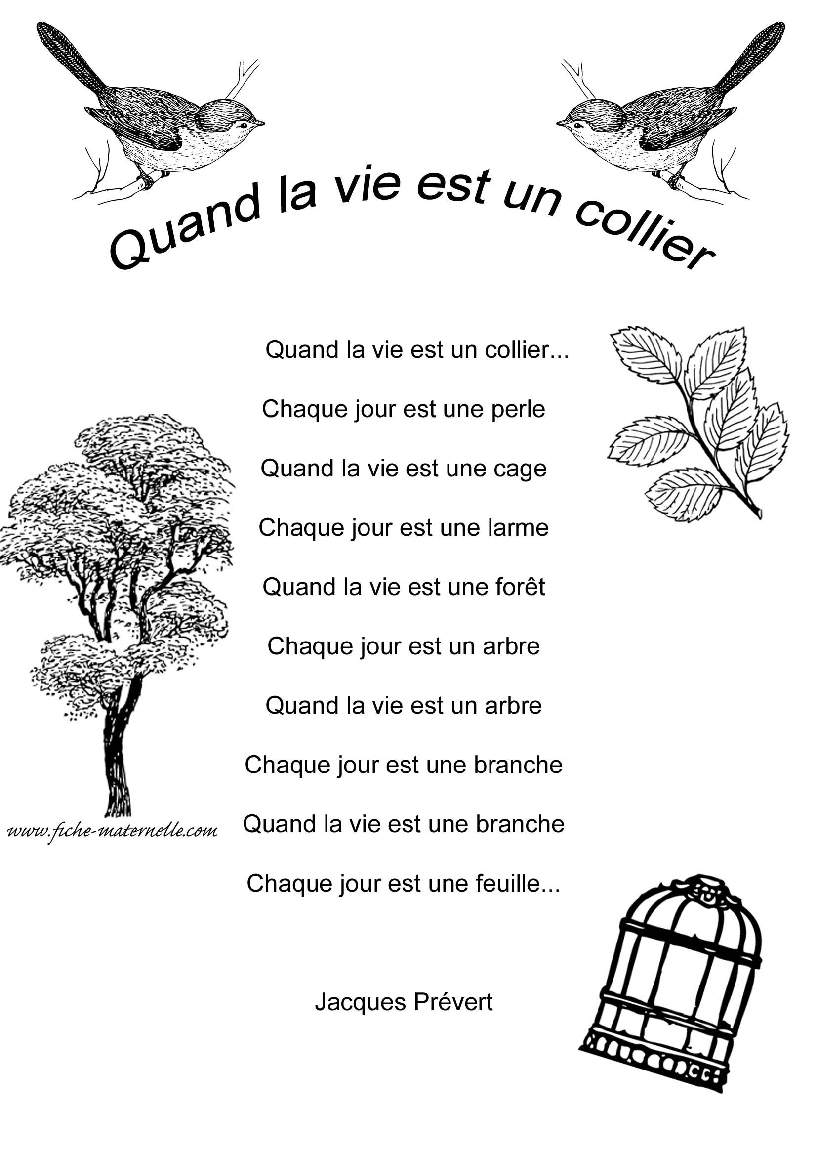 Poème Sur La Nature De Jacques Prévert : poème, nature, jacques, prévert, Poésie, Maternelle, Poeme, Francais,, Livre, Poésie,, Française