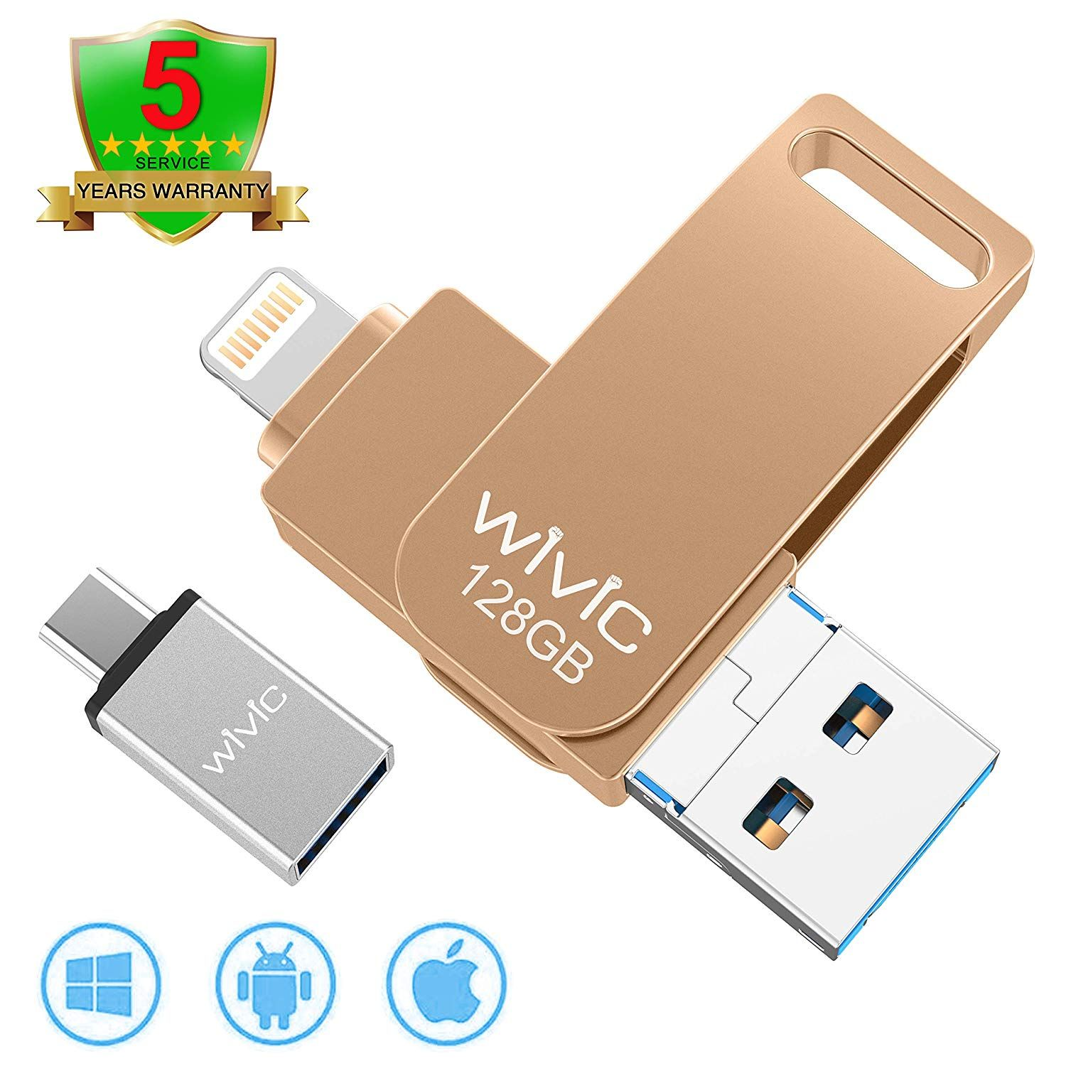 Phone Feature 4 In 1 Multiport For More Device Photo Stick For Iphone Flash Drive With 4 Ports Ios Micro Usb Type C 3 0 Usb 3 0 Photostick Ios Flash Dr