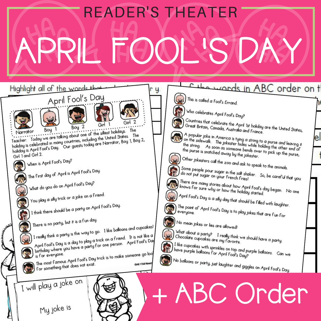 April Fool S Day Informative Reader S Theater