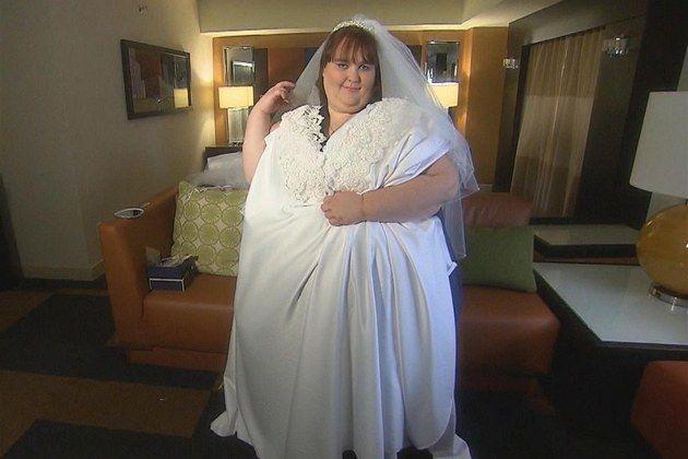 Susanne Emanová ve svatebních šatech