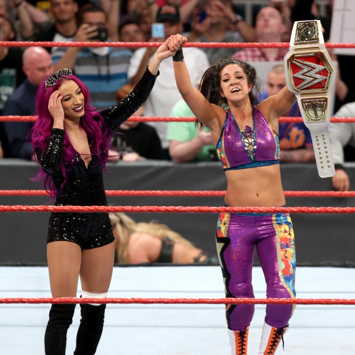 Photos: Bayley captures her first Raw Women's Championship | Wwe ...
