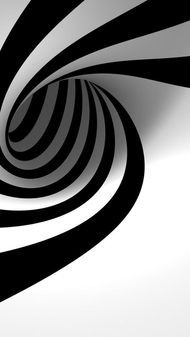Black And White Spiral Backgrounds Iphone Wallpapers Is A Fantastic Hd Wallpaper For Your Pc Or Mac And Is Available In High Def Seni Abstrak Geometri Abstrak