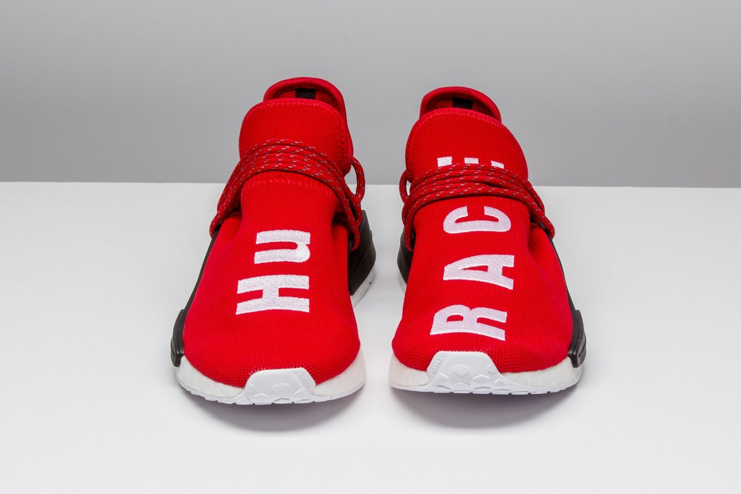 6dc3fe782197e Pharrell and adidas preach U-N-I-T-Y with their exclusive collaborable Human  Race NMD. www.stadiumgoods....  adidas