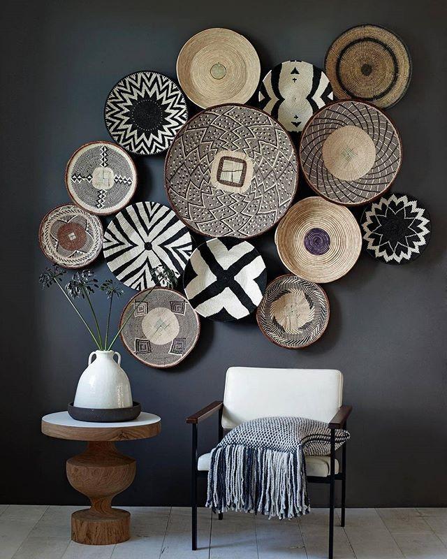 Basket Wall By Stylist Marianneluning On Instagram Decor
