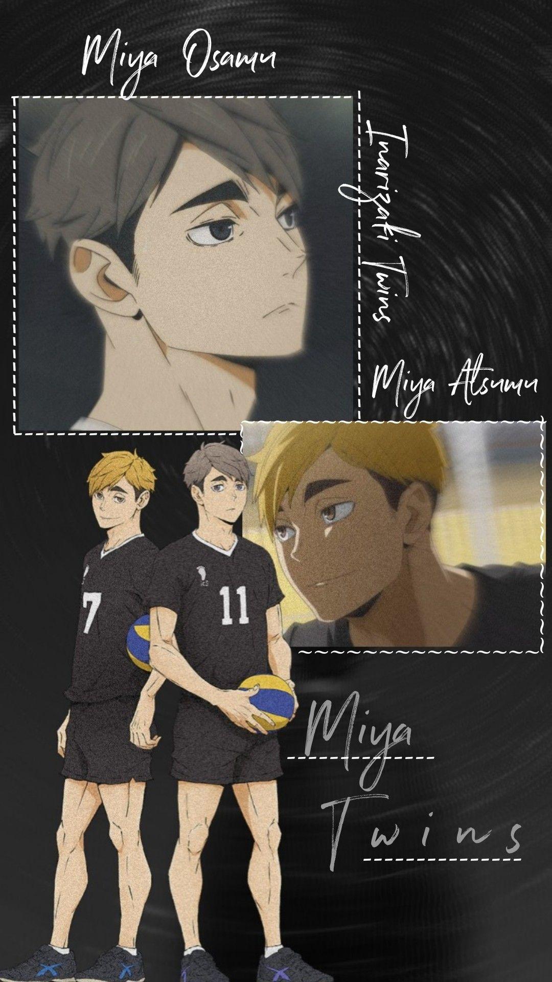 Miya Twins Haikyuu Wallpaper Miya Atsumu Haikyuu Fanart