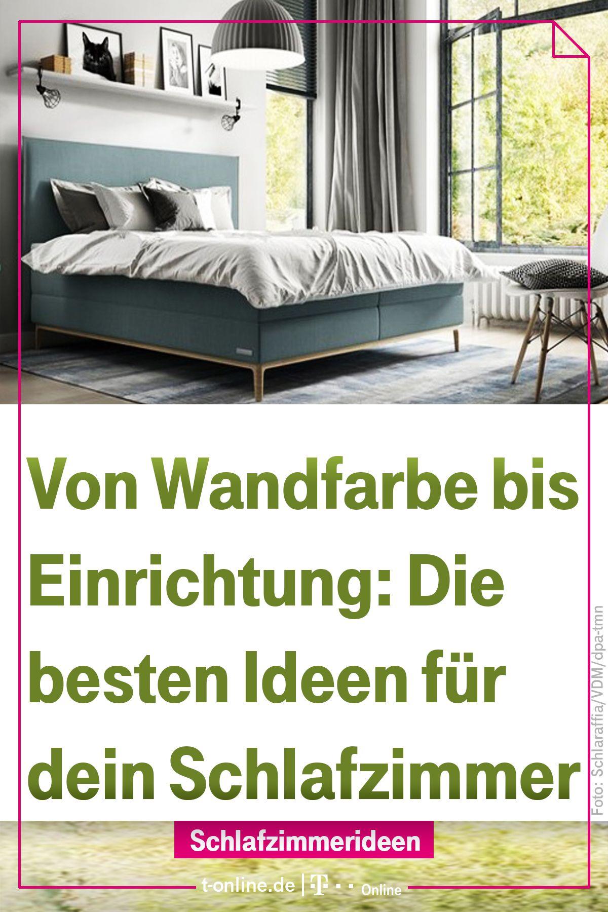 Für süße Träume: Wie sollte ich mein Schlafzimmer einrichten ...
