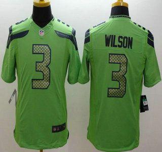 youth 2015 super bowl xlix jerseys seahawks 3 russell wilson green limited jerseys nike seattle