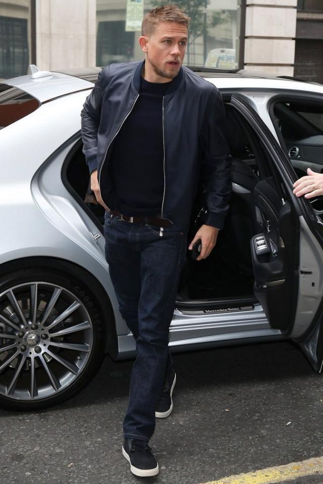 Charlie Hunnam Had One Really Stylish Week