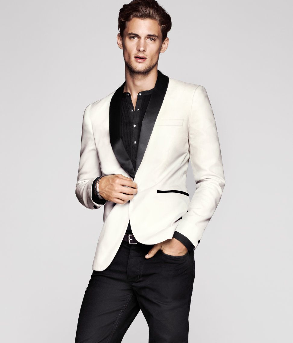 of The Best Men's Christmas Party Suits | MILAN KROUZIL ...
