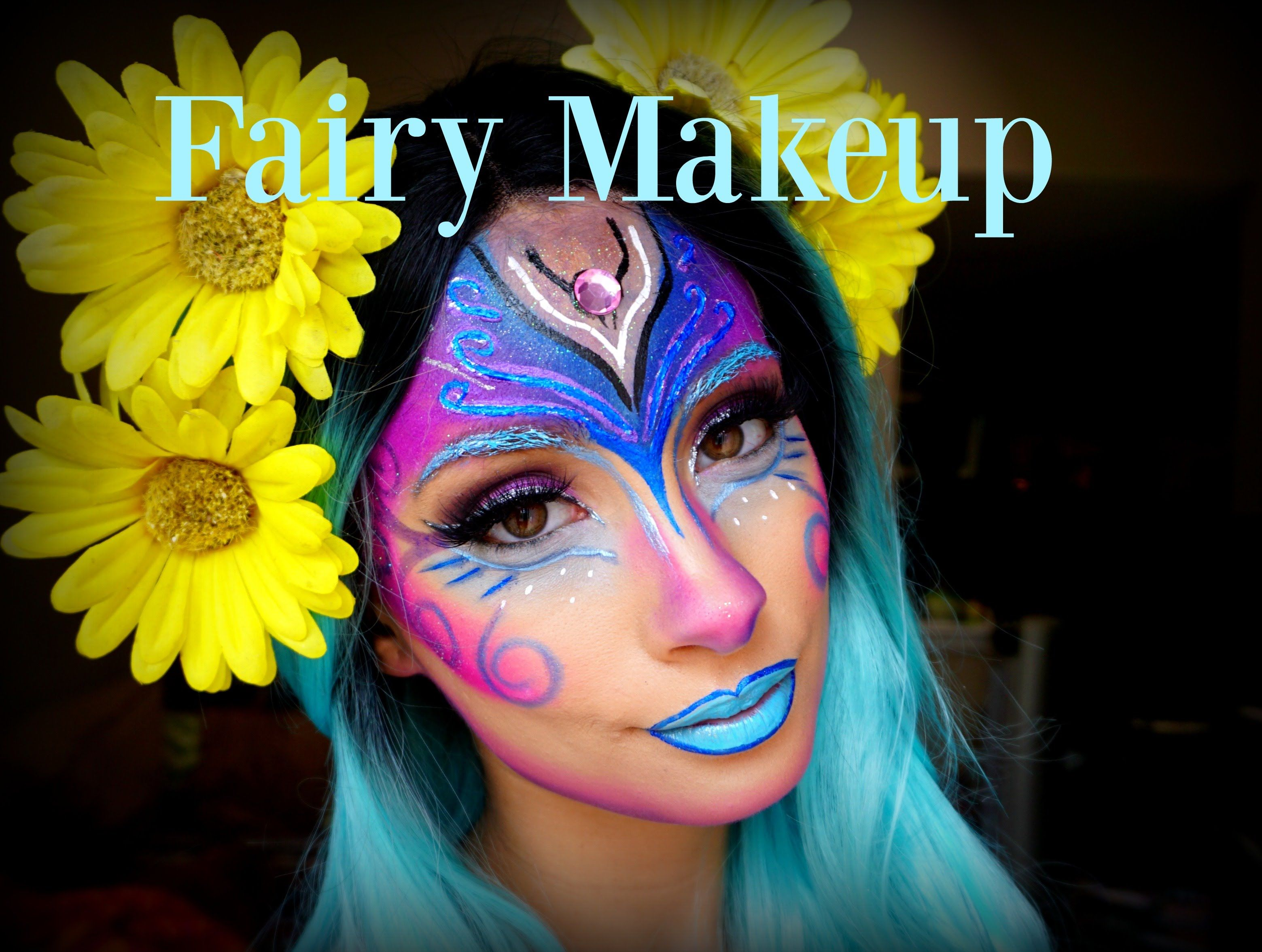 Hey love bugs hope you enjoy this fairy halloween makeup hope you enjoy this fairy halloween makeup tutorial baditri Image collections