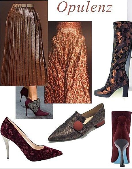 jetzt kommt opulenz ins spiel die trendfarben im herbst winter 2016 17 blog shoes. Black Bedroom Furniture Sets. Home Design Ideas