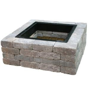 44 In Northwoods Fresco Square Fire Pit Kit 600373nor At The Home
