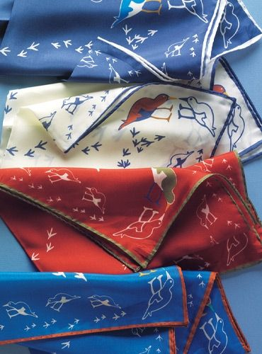 Silk Sandpiper Pocket Squares
