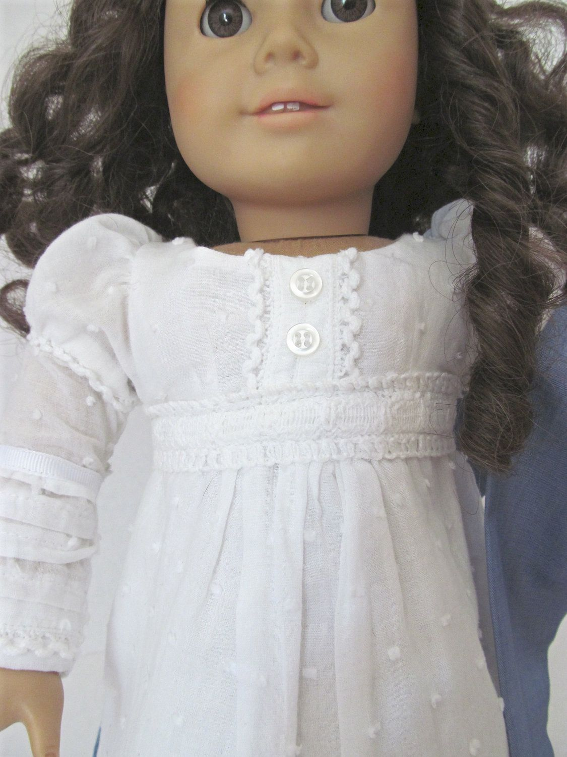 1812 Regency Dress, Wrap, American Girl Doll Clothes. via Etsy ...