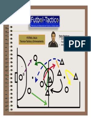 150 Ejercicios Para El Desarrollo De La Técnica Entrenamiento Futbol Ejercicios Balon Futbol Sala