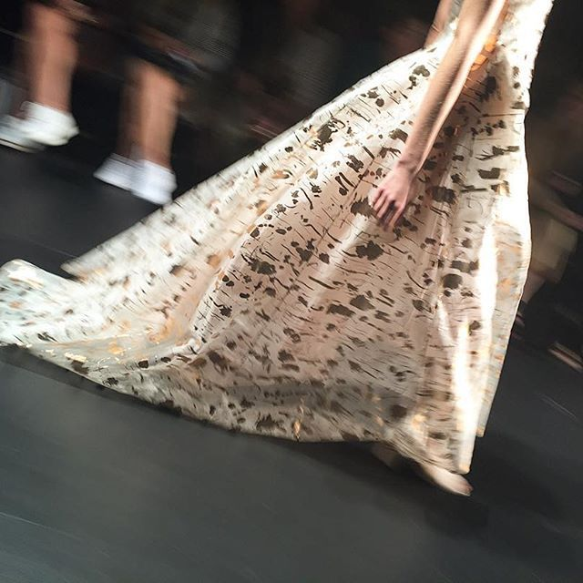 { #nyfw embellishments and shimmer at @noonbynoor }