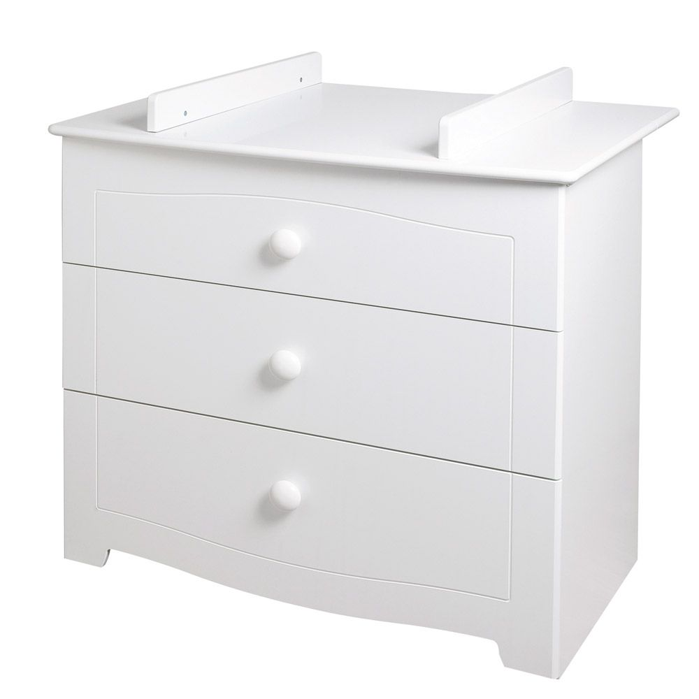 Commode 3 tiroirs orph e de sauthon s lection la - Table a langer murale autour de bebe ...