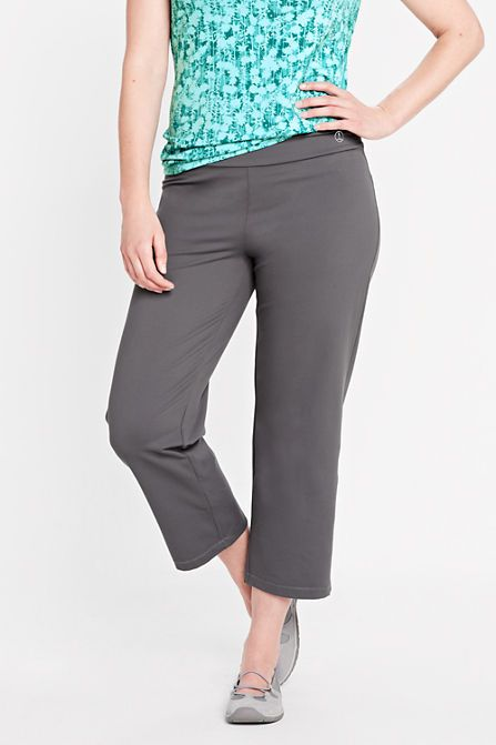 Women's Performance Sport Crop Pants from Lands' End