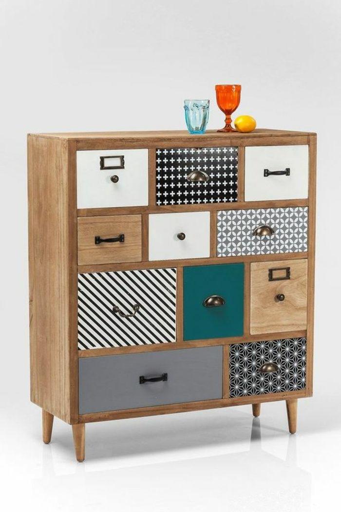 ▷ 1001 + Idées pour customiser un meuble + meuble relooké