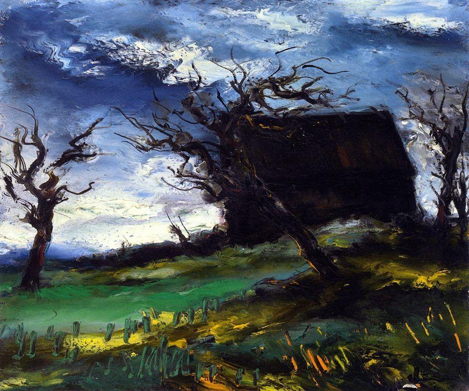 Maurice de Vlaminck (1876-1958): Landscape