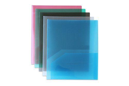 Stemsfx Clear Heavy Duty Plastic 2 Pocket Folder Pack Of Https Www Amazon Com Dp B01gdjistg Ref Cm Sw R Pi Plastic Folders Pocket Folder 2 Pocket Folders