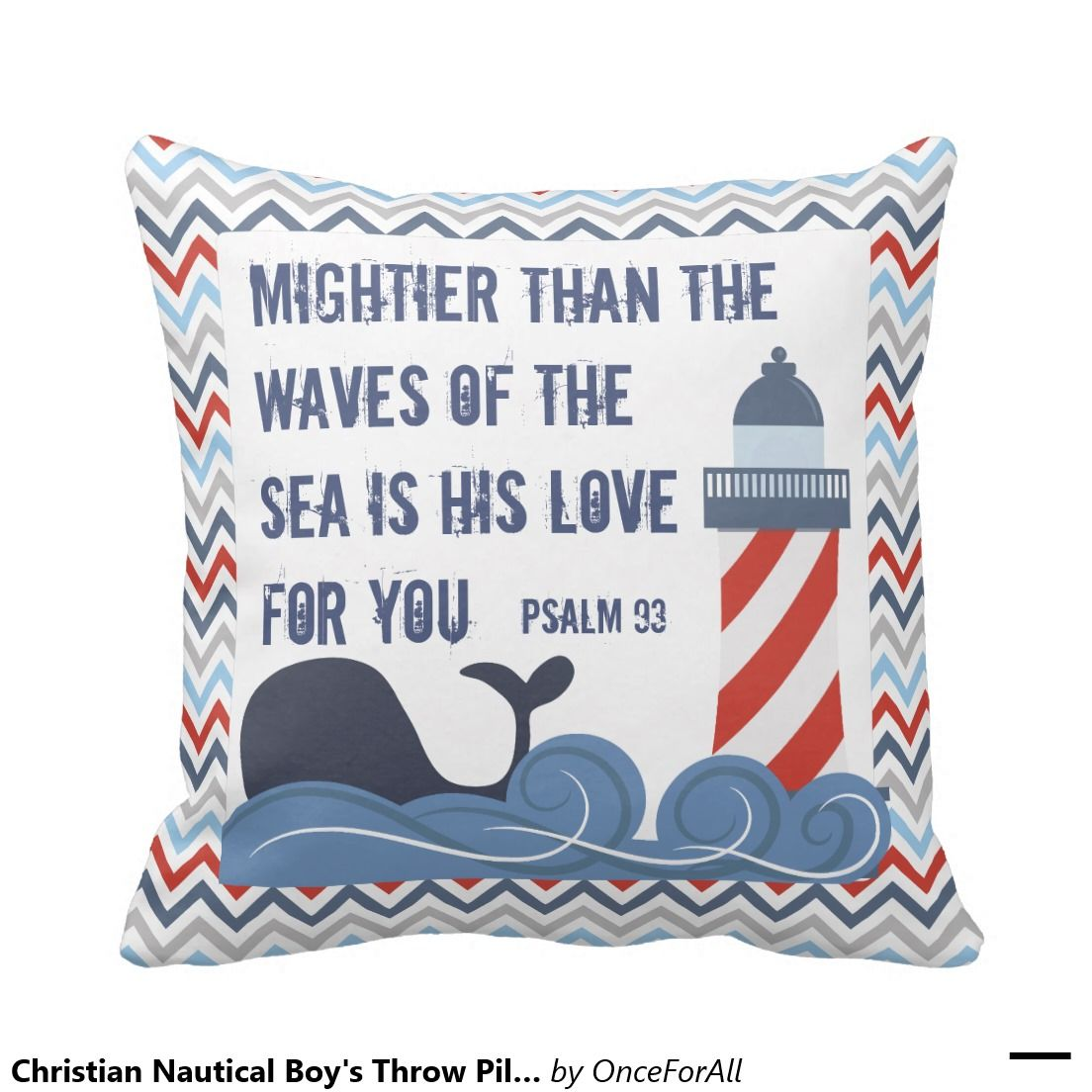 Nautical gifts for the home - Christian Nautical Boy S Throw Pillow Nautical Giftsnautical Homekids