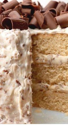 Southern Praline Cake  #pralinecake