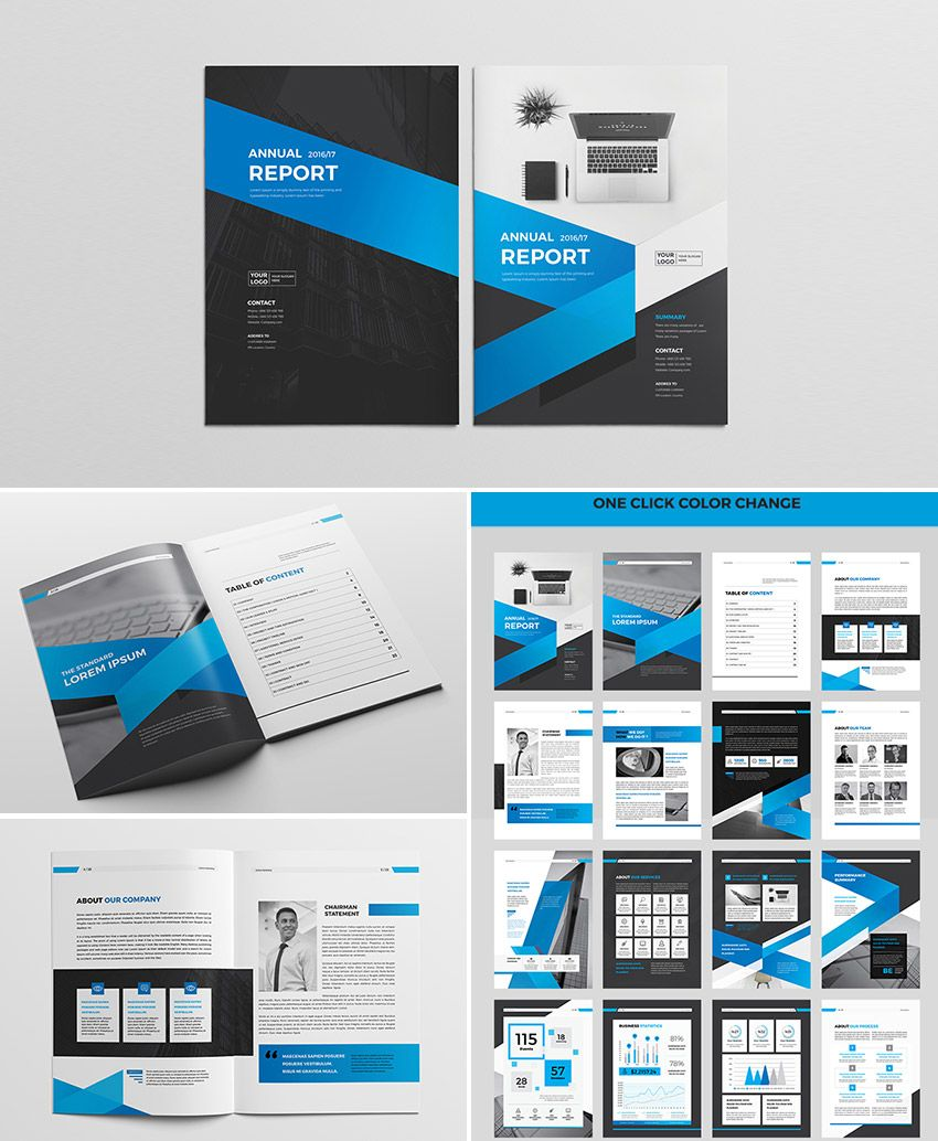 20 Best Indesign Brochure Templates: 25+ Best Annual Report Templates